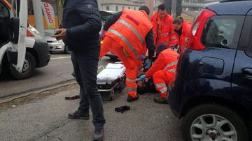 Gunman arrested after 'racially motivated' driveby shooting in Italy