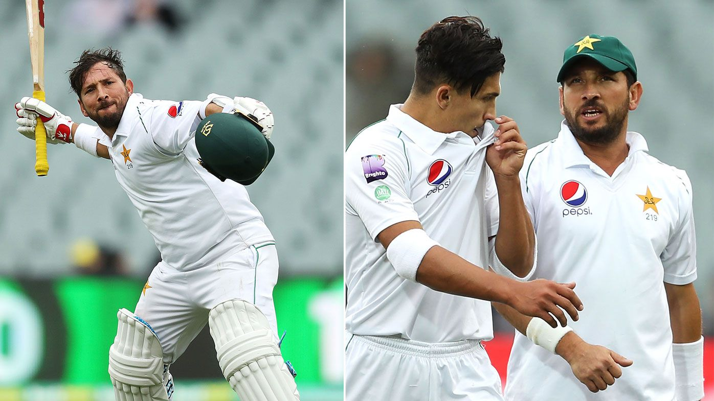 Pakistan's best Yasir Shah also their worst in Adelaide, highlighting tour woes