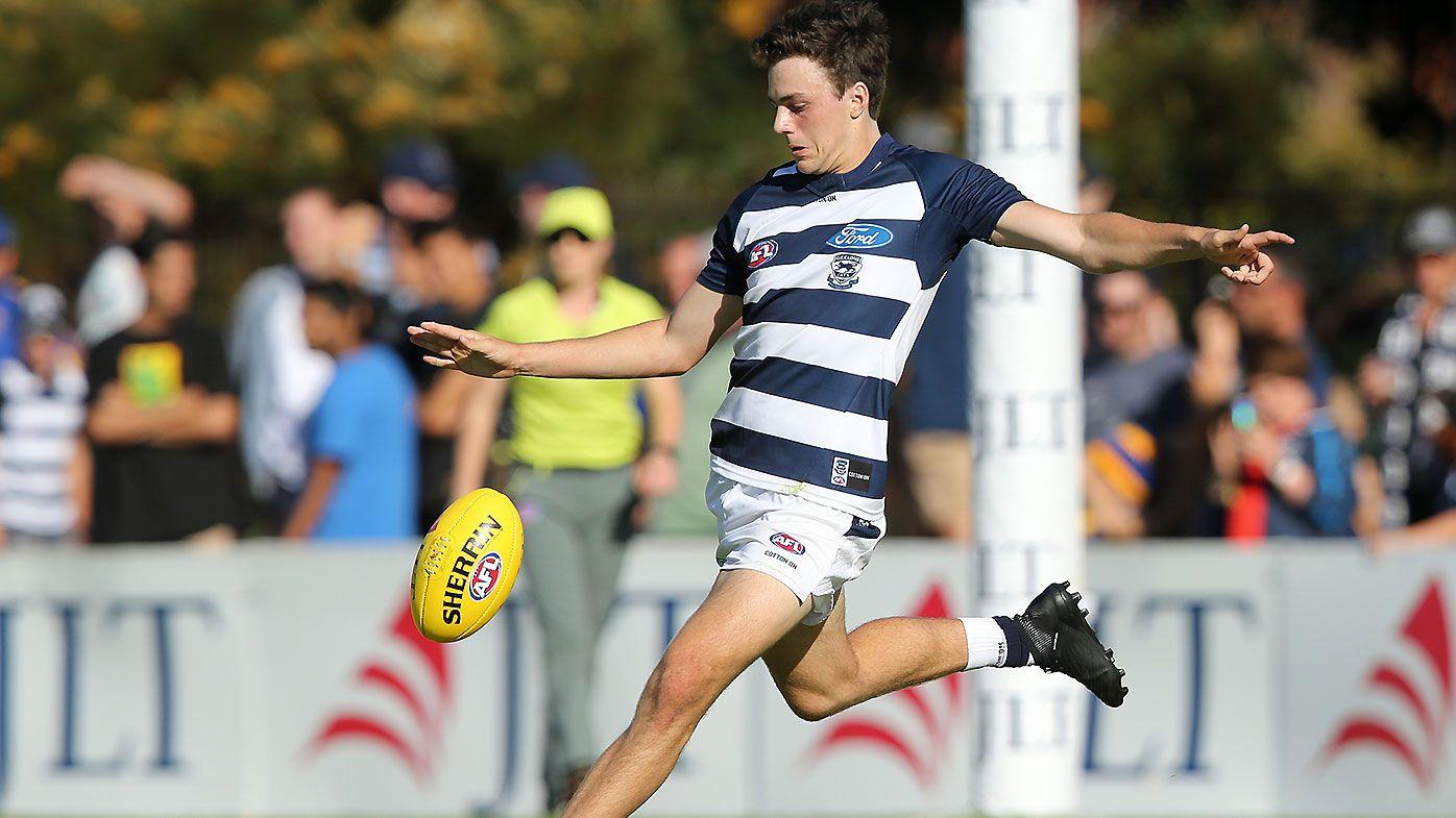 AFL fans up in arms as Geelong rookie Jordan Clark stars in JLT debut