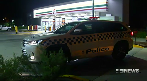 Police attending a stabbing attack at a Roxburgh Park service station said there was substantial amounts of blood spread across the floor.