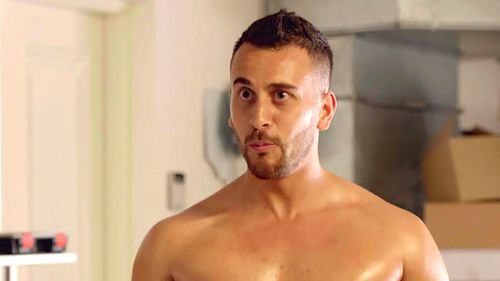 Eldest sibling Toufic is a wannabe entrepreneur and gym-lover. (Channel 9)