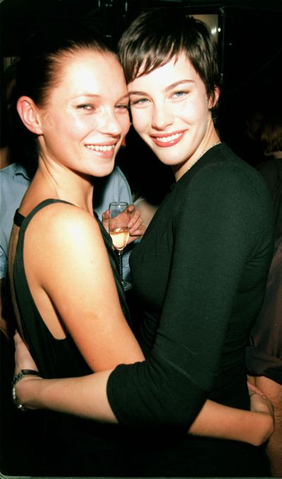 Before Taylor Swift and her #squad, there was Kate Moss and Liv Tyler.