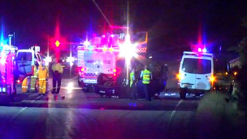 He was taken to John Hunter Hospital and is in a critical condition. (9News)