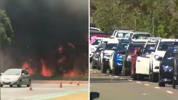 190128 Main Beach Gold Coast Sea World fire SPLIT 2