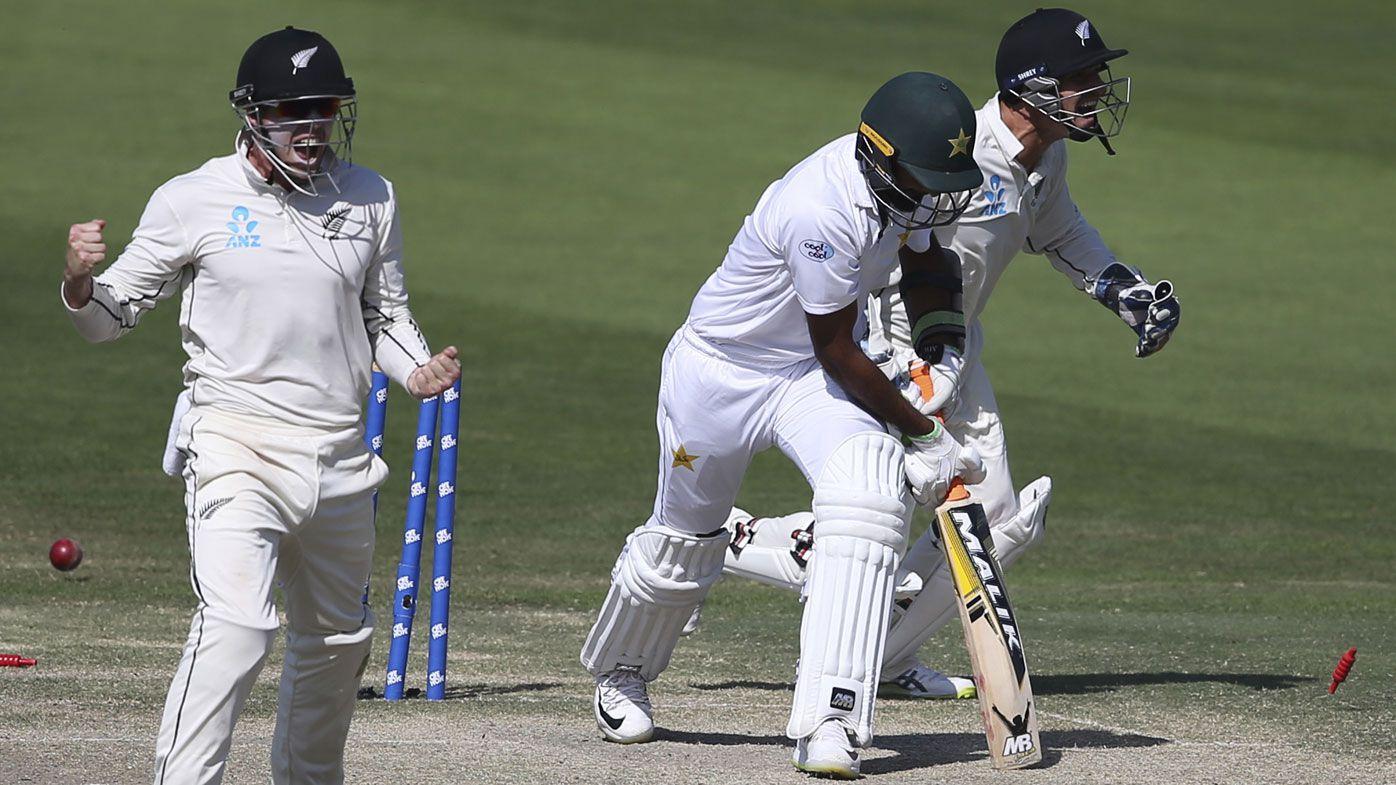 New Zealand beat Pakistan by four runs in Test thriller