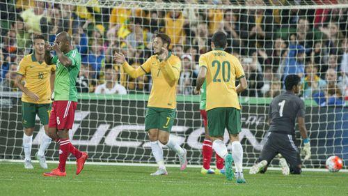 Socceroos tear Bangladesh to shreds in Perth