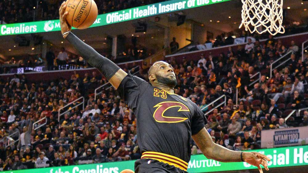 NBA: 'King James' makes slamming return to NBA