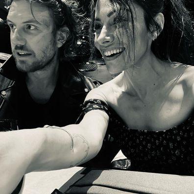 Sarah Shahi and Adam Demos dating in real-life Netflix show Sex/Life