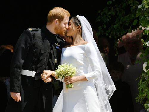 Prince Harry and Meghan Markle have tied the knot in front of millions of people across the world. (AAP)