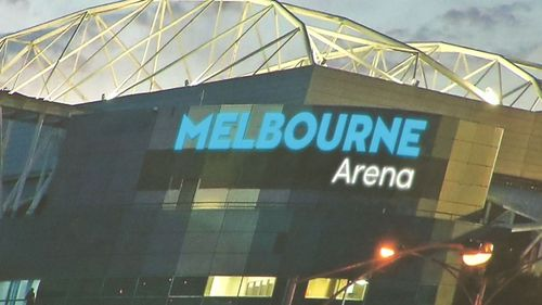 A mock-up of the venue's new signage. Picture: 9NEWS