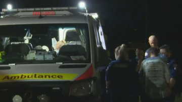 A man has been taken to hospital after he sustained injuries in the Sydney suburb of Glenfield.