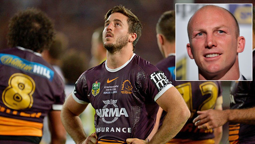 Ben Hunt and (inset) Darren Lockyer. (Getty and AAP)