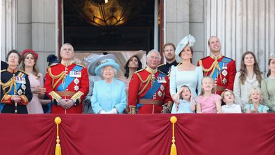 Prince Harry Meghan Markle royal family Trooping the Colour