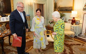 Queen, Morrison discuss Winx, drought