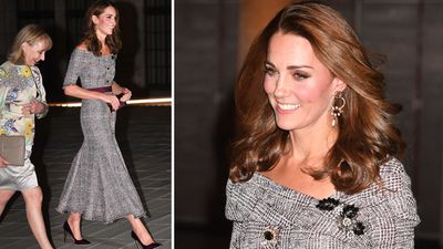 Kate Middleton visits the Victoria and Albert Museum, October 2018