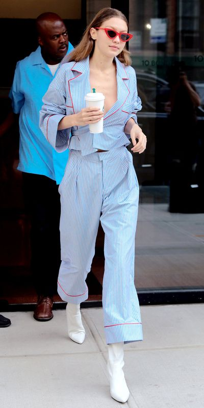 Gigi Hadid in New York City, June 2017