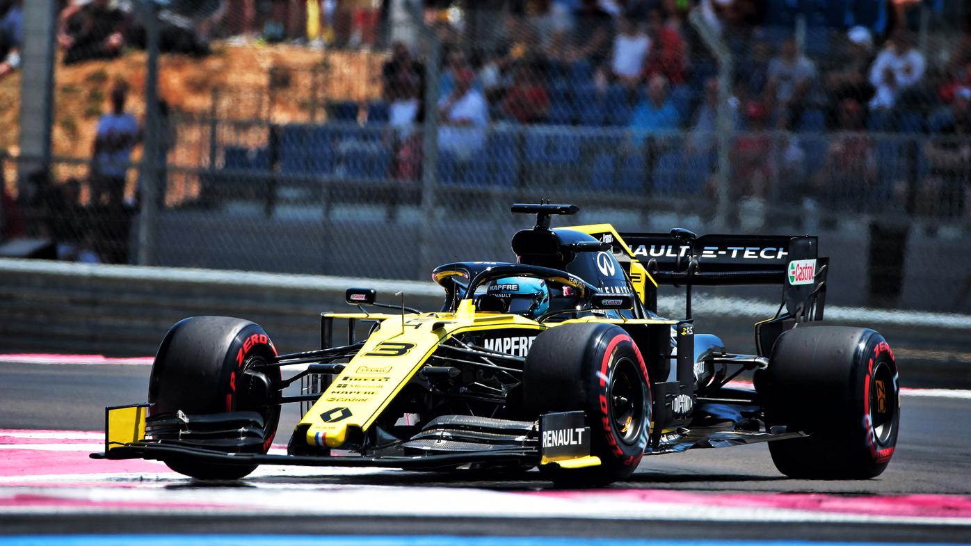 Daniel Ricciardo qualifies eighth for French Grand Prix, Lewis Hamilton on pole