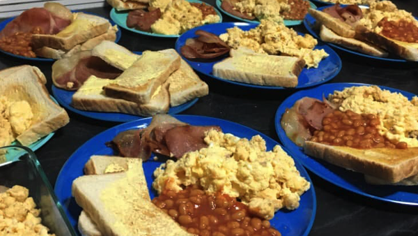 Bonell family breakfast