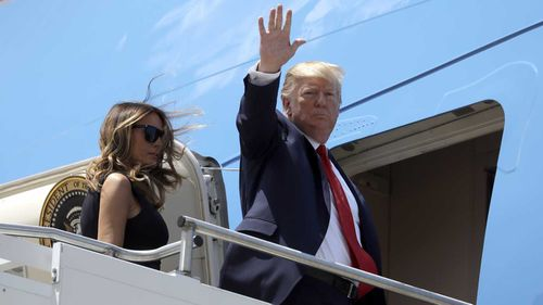 Donald Trump visited the cities of El Paso and Dayton following the mass shootings there.