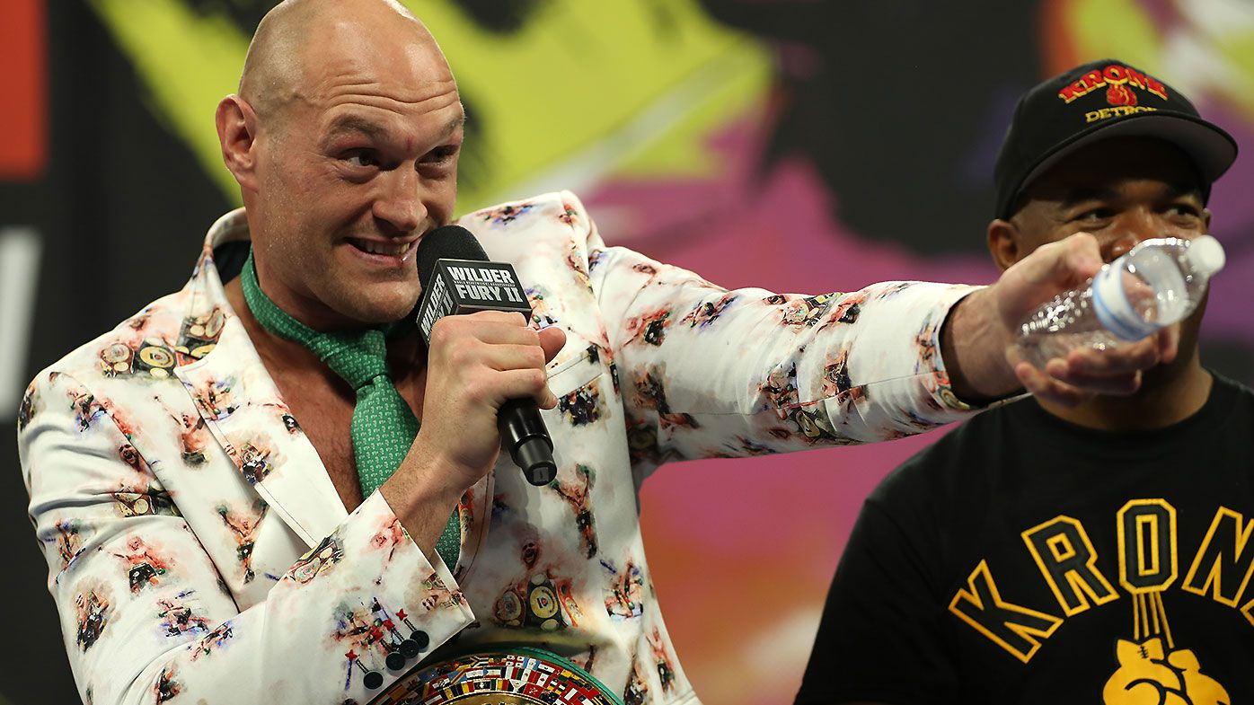 'It will be a major attraction': The $20 million plan to bring Tyson Fury down under revealed