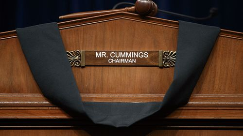 Elijah Cummings chaired the powerful House Oversight Committee.