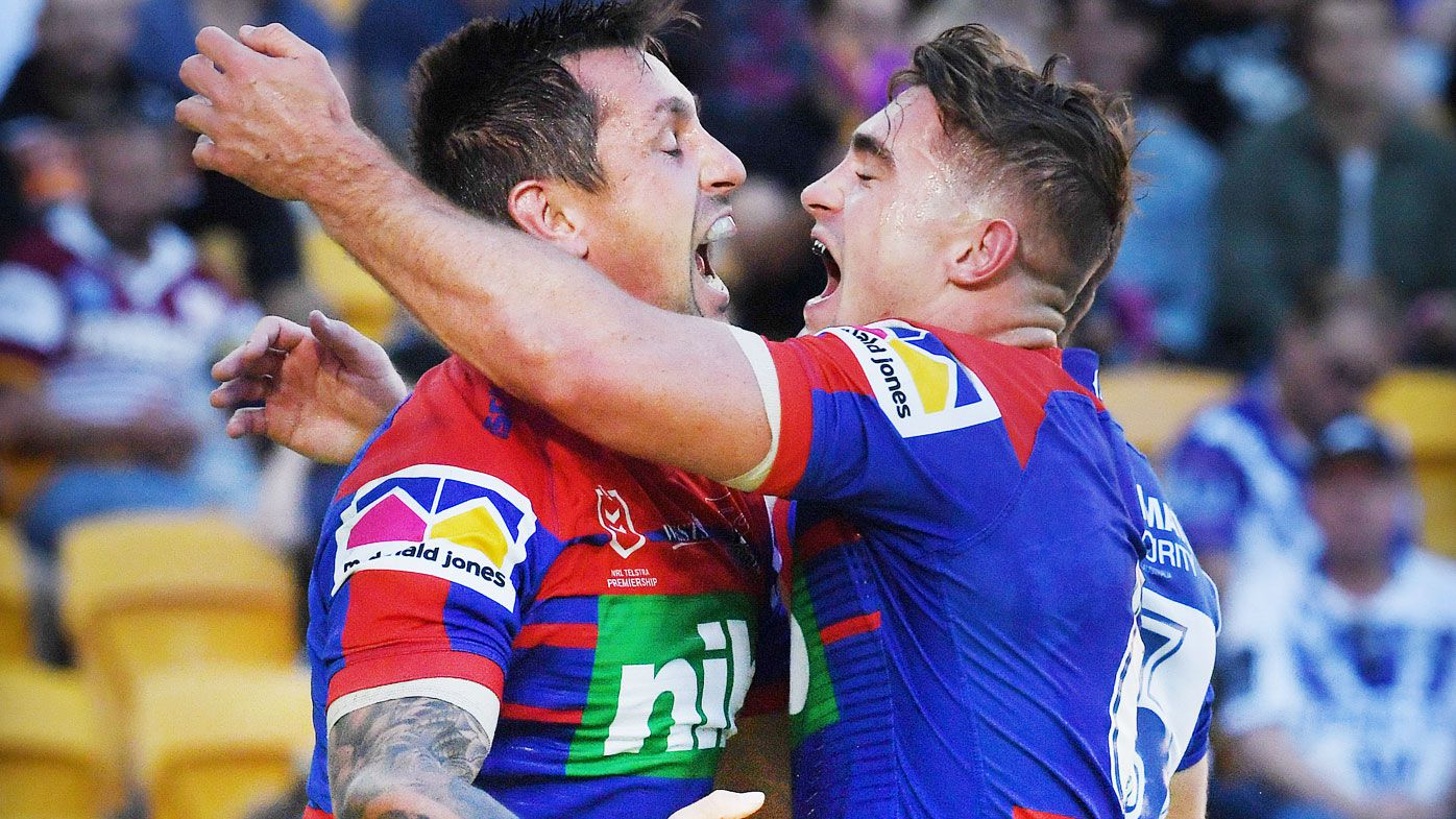 NRL: Newcastle Knights see off Canterbury Bulldogs as Ponga-Pearce reign supreme