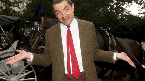 Rowan Atkinson says goodbye to Mr Bean