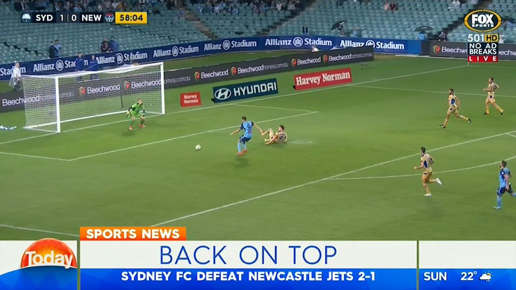 TODAY: Sydney FC back on top