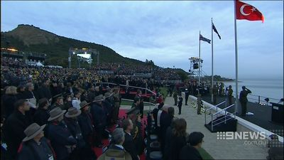 The service was attended by Prince Charles and Prince Harry among other dignitaries. (9NEWS)