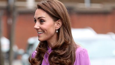 The Duchess visits the Henry Fawcett Children's Centre on March 12.