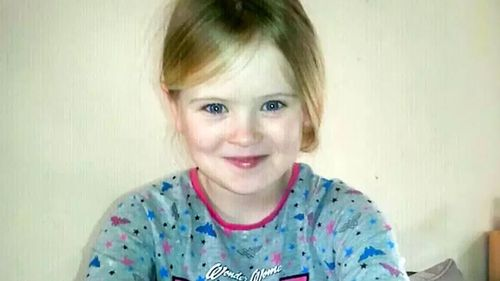 Mylee screamed 'daddy stop' when she was dragged inside with her knife-wielding father.