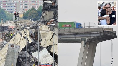 'Apocalyptic' motorway bridge collapse kills at least 26 in Italy