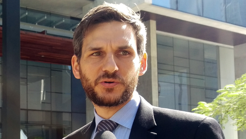 Environmental lawyer Michael Berkman is the Greens' Maiwar candidate. (AAP file image)