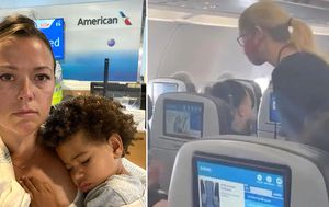 Airline denies mum and son, 2, after he refused to wear mask