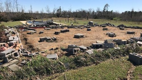Alabama tornadoes US weather news Death toll 23