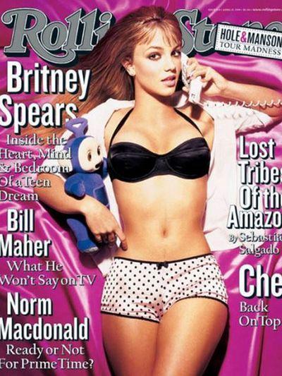 <p>Britney Spears, 1999</p>