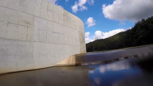 The council may be forced to consider closing the dam to the public.  (YouTube/Rowan Le Sueur)