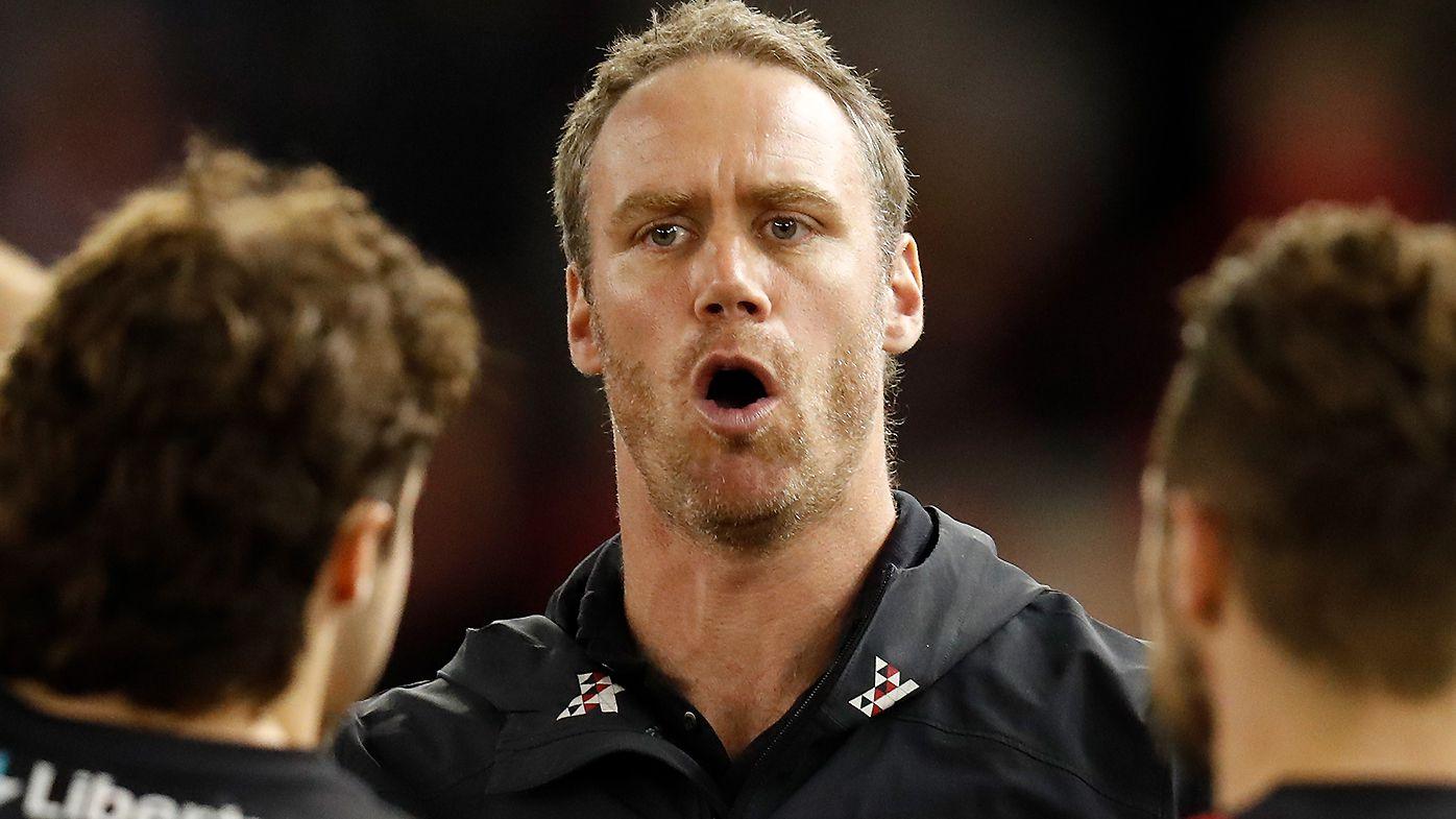 Ben Rutten and Justin Longmuir at odds over 'dangerous' off-ball hits on Zach Merrett