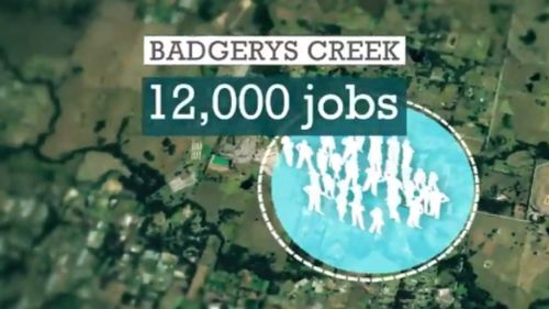 The new site could create thousands of new jobs. (9NEWS)