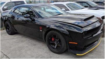 $320k Dodge missing after dealership heist.