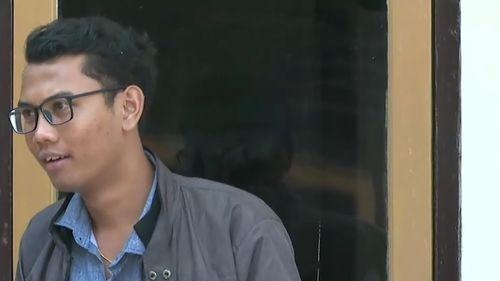 Victim Wayan Wirawan.