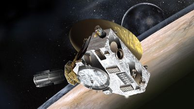 New Horizons will hopefully finally unlock the mysteries of dwarf-planet Pluto. (NASA/NSSDC)
