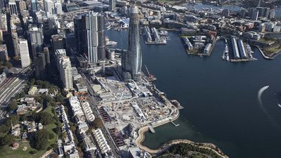 Barangaroo construction site