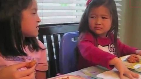 Watch: Parents attempt Alicia Silverstone's method of spit-feeding their kids