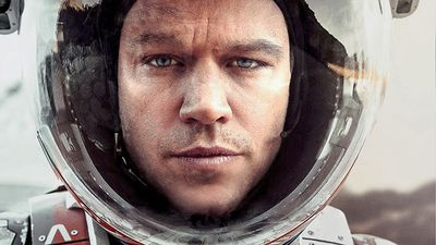 2016 Academy Award nominee Matt Damon in <em>The Martian</em>.