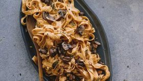 No cheese pasta