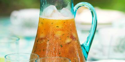 Papaya breakfast cooler