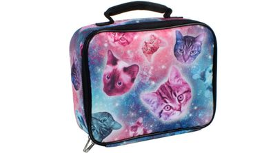 Ryker was bullied for carrying a Space Cats lunchbox