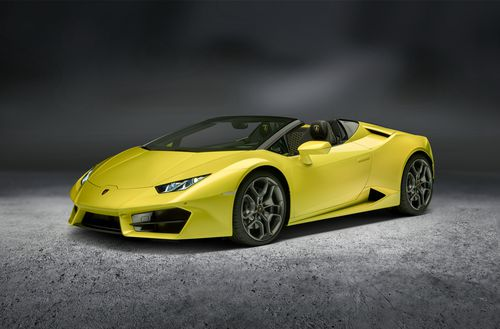 The Lamborghini Huracan is worth about $400,000. (Supplied)