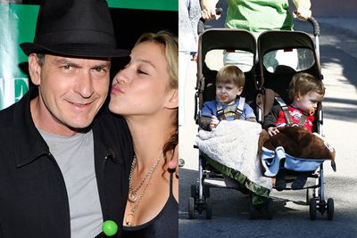 Charlie Sheen reckons he's 'winning' at life, which is enough of a dumb comment to land him in the embarrassing basket. But really, he can't be winning at being a Dad. <br/><br/>After splitting with his sitcom 'Two and a Half Men' earlier this year, then having an over-the-top meltdown and creating his own nutty publicity tour, we reckon Charlie's a total trainwreck Dad. He's got five kids, too...two girls to ex-wife Denise Richards, twin boys to more recent ex, Brooke Mueller, and a daughter from a high-school fling.